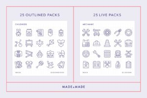 made x made icons mega pack vol