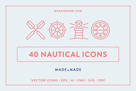 made x made icons nautical cover