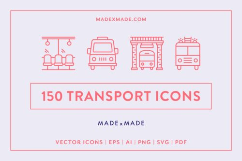 made x made icons transport