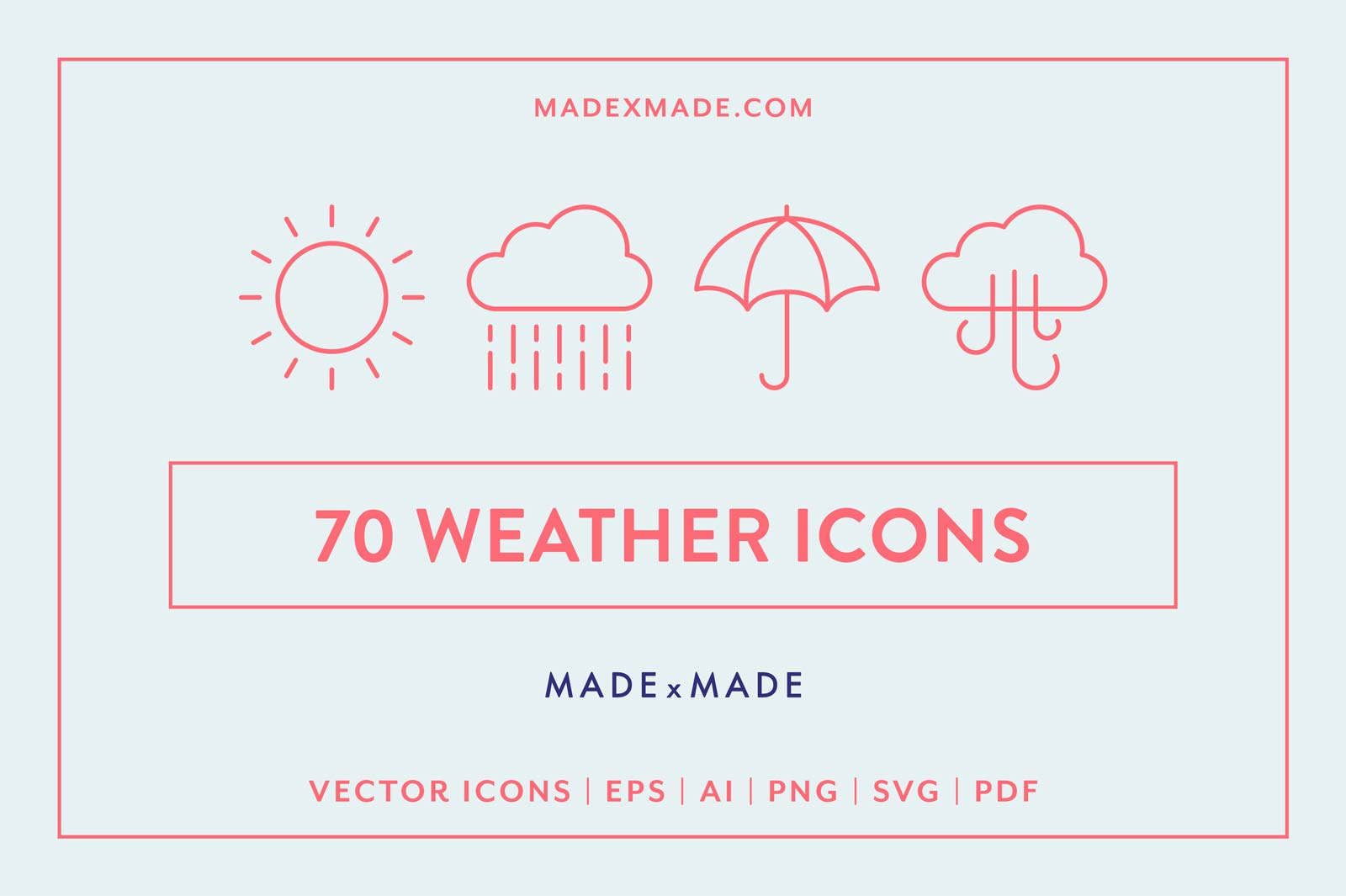 made x made icons weather