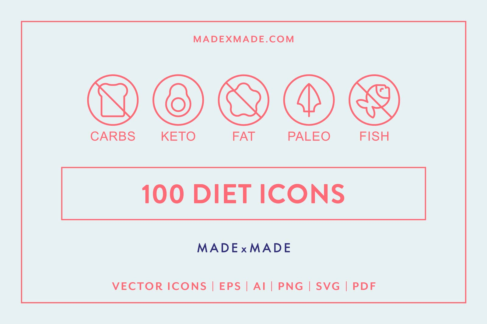 made x made icons diet