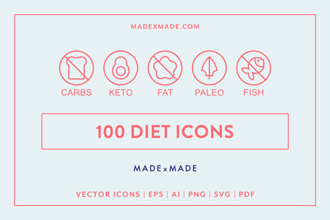 made x made icons diet cover