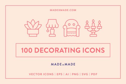 made x made icons decorating