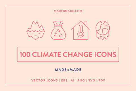 made x made icons climate change cover