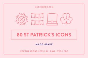 made x made icons st patricks day