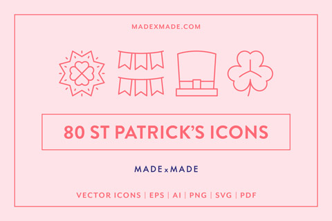 made x made icons st patricks day cover