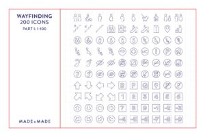 made x made icons wayfinding