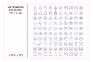made x made icons wayfinding