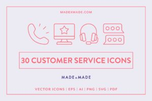 made x made icons customer service