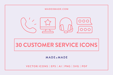 made x made icons customer service cover