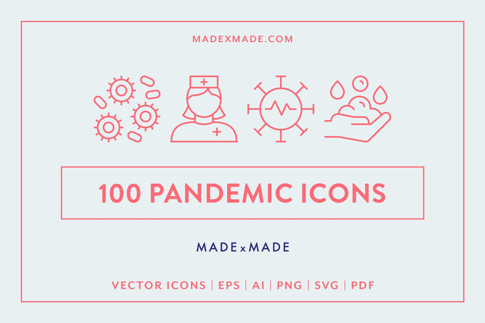 made x made icons pandemic