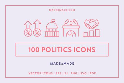 made x made icons politics cover