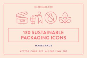made x made icons sustainable packaging