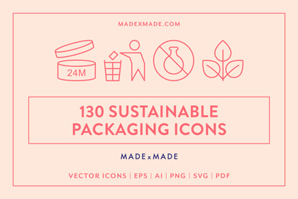 made x made icons sustainable packaging cover