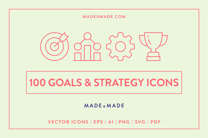 made x made icons goals strategy cover