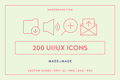 made x made icons ui ux cover