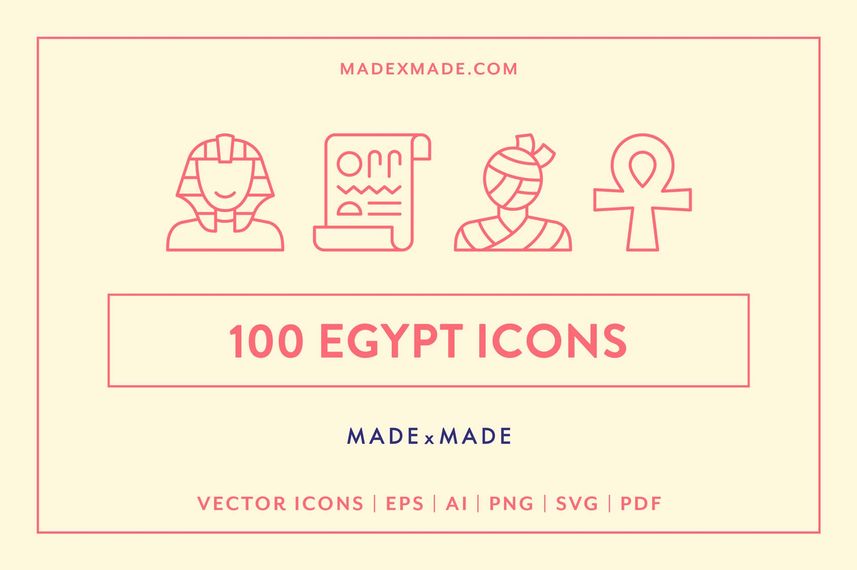made x made icons egypt