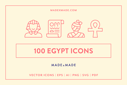 made x made icons egypt cover