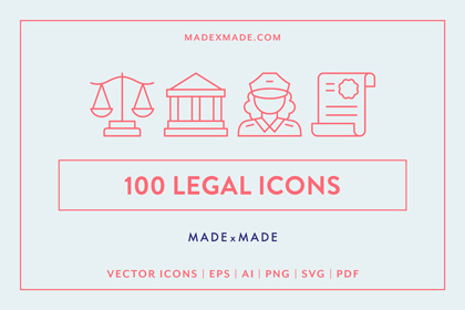 made x made icons legal cover