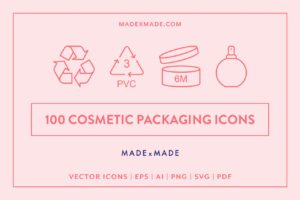 made x made icons packaging bundle