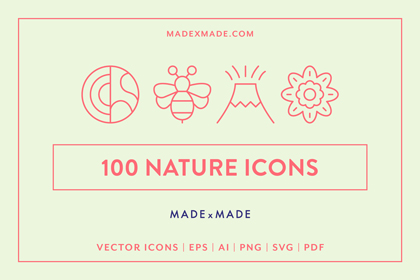 made x made icons nature cover